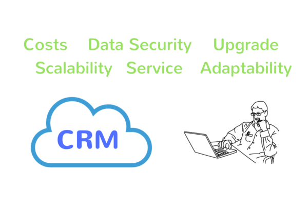 CRM on Cloud Header