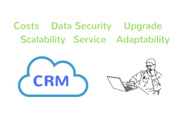 CRM on Cloud Header